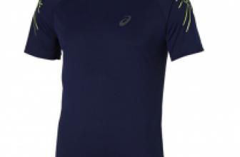 Asics Herren Stripe Laufshirt